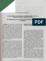El Paradigma de Sistemas. Posibilidades Para Una Practica Social Emancipadora