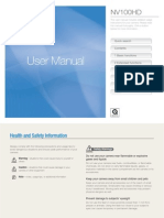Samsung Camera NV100HD User Manual