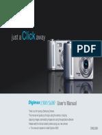 Samsung Camera S500 / S600 User Manual