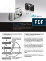 Samsung Camera S630 / S730 User Manual