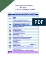 NEC 01 Presentación de Estados Financieros