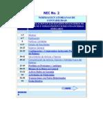 NEC 02 Revelacion de Los Estados Financieros de Bancos y Otras Instituciones Financieras