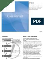 Samsung Camera S1070 User Manual