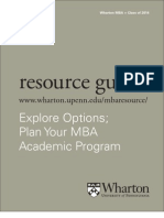 Mba Resource 12-13 wharton MBA PA