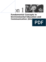Part 1 - Fundamental Concepts in Environmental Education and Communication (EE&C)