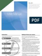 Samsung Camera SL30 User Manual