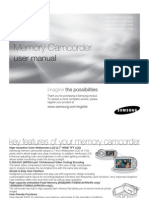 Samsung Camcorder SC-F30/F33/F34LN User Manual