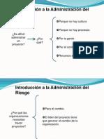 Introduccion a La Administracion de Riesgo
