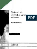 DICCIONARIO DE DERECHO ROMANO - MARTA MORINEAU IDUARTE.pdf