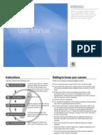 Samsung camera WB550 User Manual