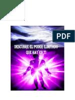Libro Descubre El Poder Ilimitado Que Existe en Ti