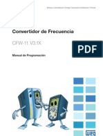 WEG Cfw 11 Manual de Programacion 0899.5842 3.1x Manual Espanol