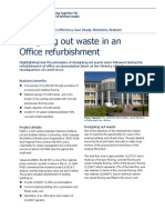 Refurbishment Resource Efficiency Case Study_Office_Blenheim
