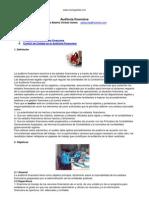 Auditoría financiera XD