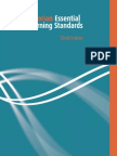 Victorian Essential Learning Standards Overview