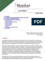 Leia a Biblia Orlando Fedeli