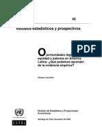 Oportunidades Digitales, Equidad y Pobreza en America Latina