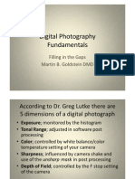 Digital Photography Fundamentals