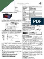 EC2-742 Condenser Controller