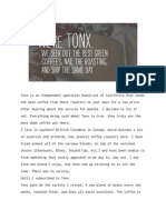 Tonx Coffee Review
