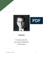 Resume - Attorney Steve Rice - Steve Rice Law