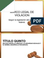 Marco Legal de Violacion