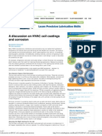 A Discussion on HVAC Coil Coatings and Corrosion