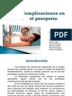 Exposicion Obstetricia III Complicaciones Puerperal