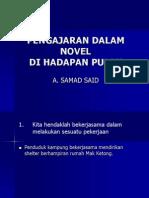 Pengajaran Dalam Novel