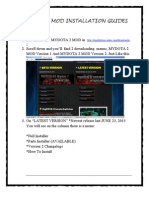 Mydota 2 Mod Installation Guides