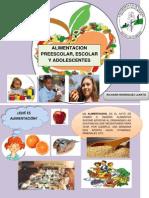 Portafolio Sobre Alimentacion Preescolar,Escolar y Adolescentes