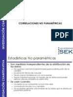 Correlacion No Parametrica