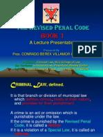 Revised Penal Code - Book 1