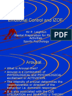 Emotional Control and Izof 12