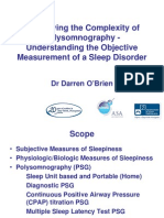 Review Sleep Study August 2010