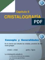 2.- Cristalografía