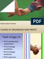 11.PR Di Org Non Profit (Dashum 2011) (1)