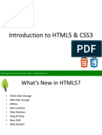 SpringPeople Introduction to HTML5 and CSS3