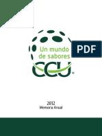Memoria Anual CCU 2012