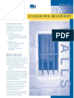 Clean Masonry