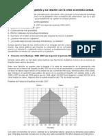 Burbuja Inmobiliaria Española y su relacion con la Crisis Economica actual