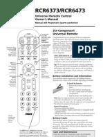 Manual Control Remoto RCA RCR6373.6473 DOC OM
