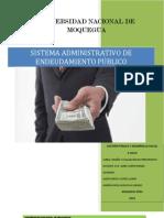 Sistema de Endeudamiento Publico