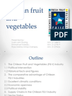 Chilean Fruit and Vegetables