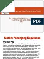 Dss (pengambil keputusan DBMS)