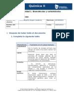 MV-Unidad 2. Actividad 1 Biomoléculas y carbohidratos
