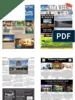 "Kuta Weekly-Edition 342 "" Bali's Premier Weekly Newspaper"""