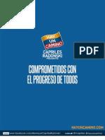 Programa de Gobierno de Henrique Capriles No Entregado Al CNE