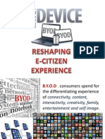 Bring-Your-Own-Device  Reshapes Ecitizen Experience