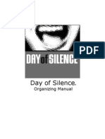2009 Manual Day of Silence